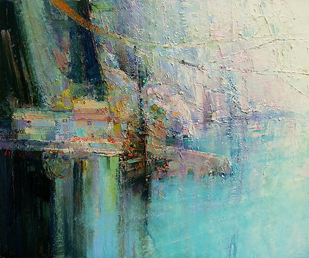 VERTIGE Abstract Painting