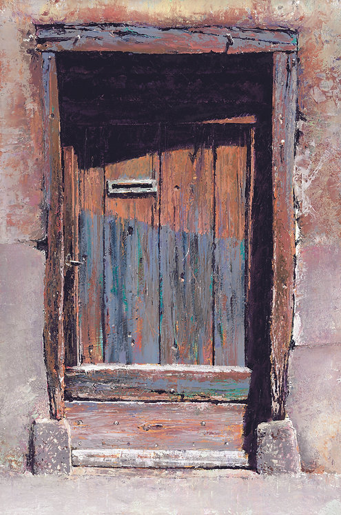 LITTLE DOOR Giclee Print