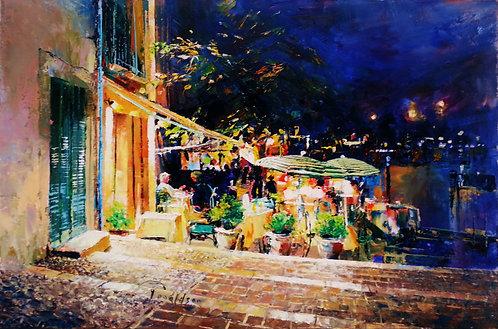 QUAI DES BAUX Painting