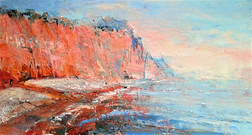 BEACH No. 6 SIDMOUTH Painting