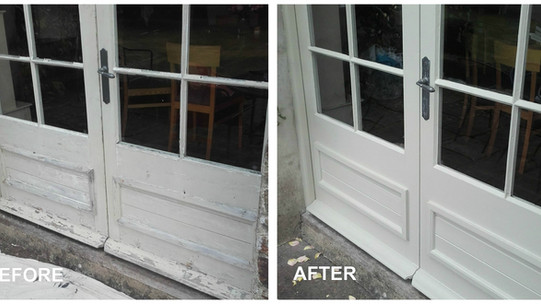 FRENCH DOORS FACELIFT