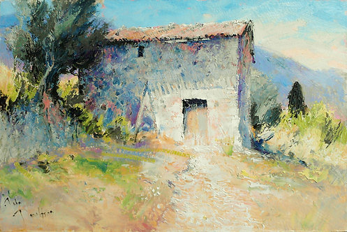 JULY IN UMBRIA Painting