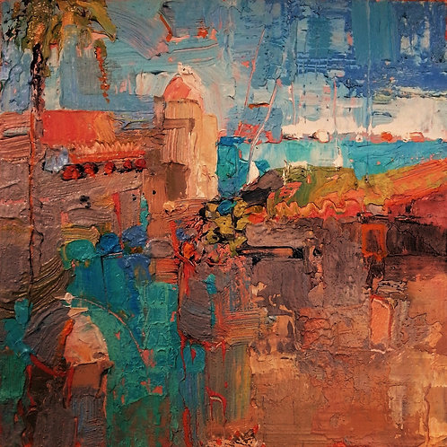 CITADEL Mini Abstract Painting