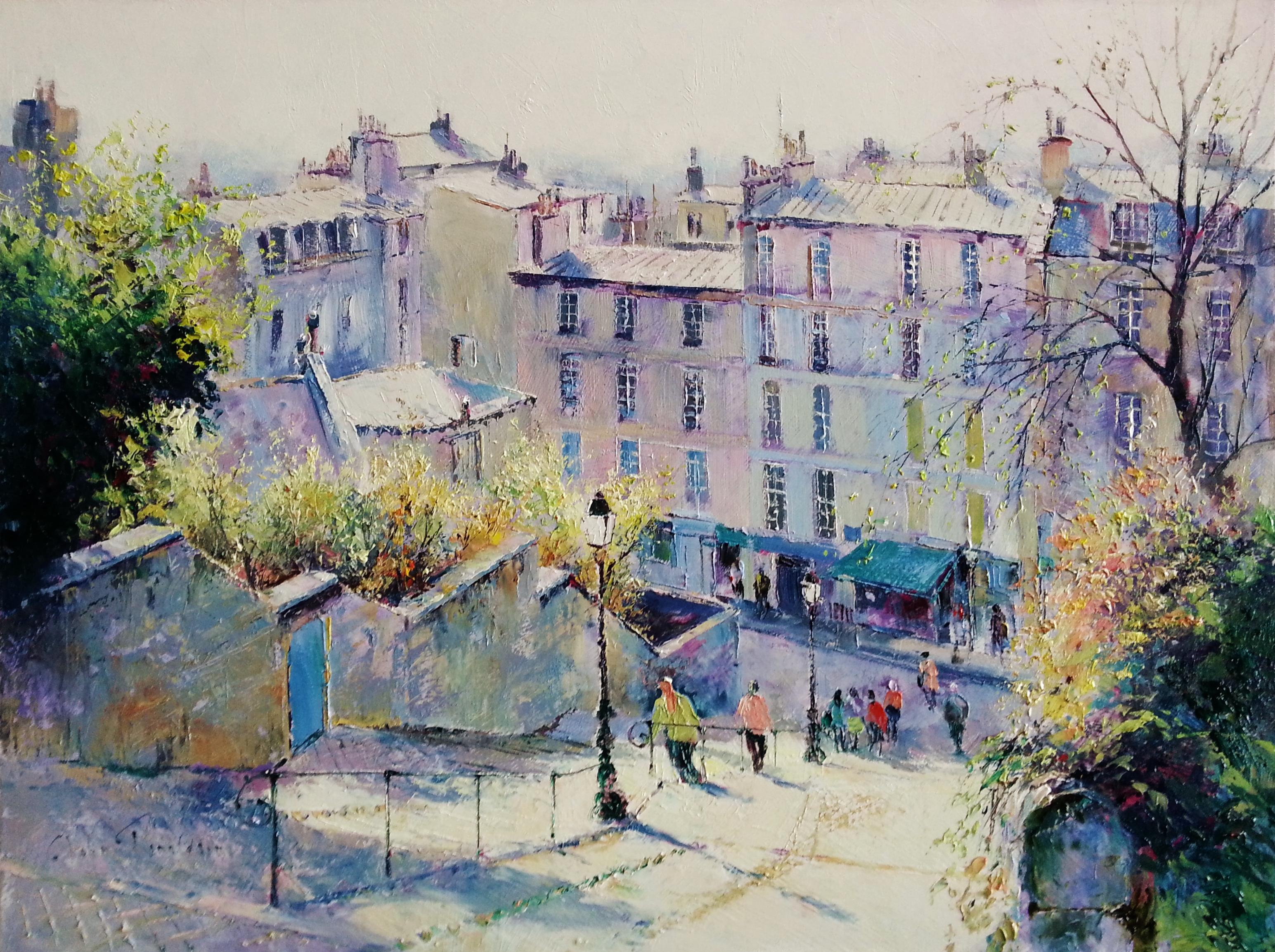 Montmartre in Springtime