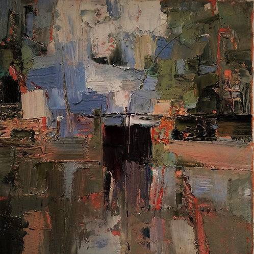 CANAL Mini Abstract Painting