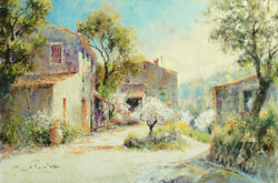 MORNING IN THE MIDI Painting
