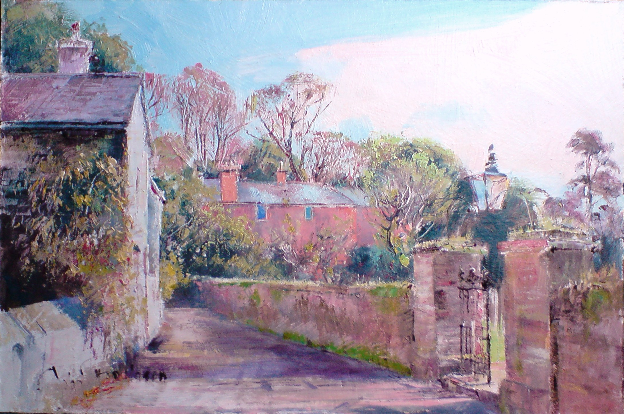Study for Slapton Village