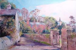 Study for Slapton Village