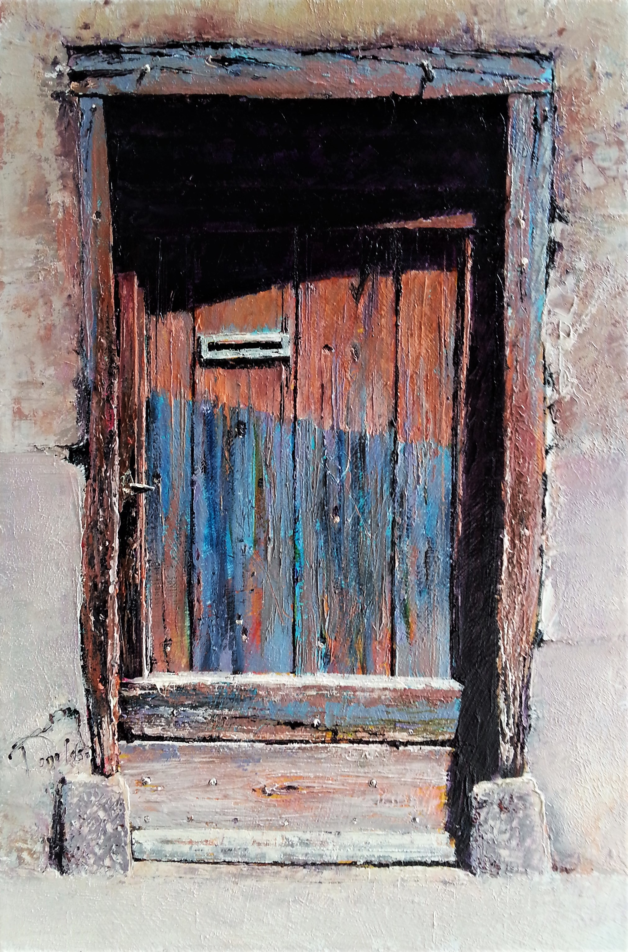 Little Door Oil Painting