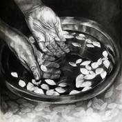 immerse my hands in my fallen memories II