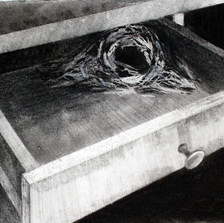 The shelter at the end of the drawer