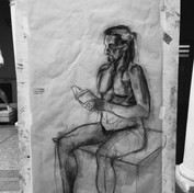 Study of a male body