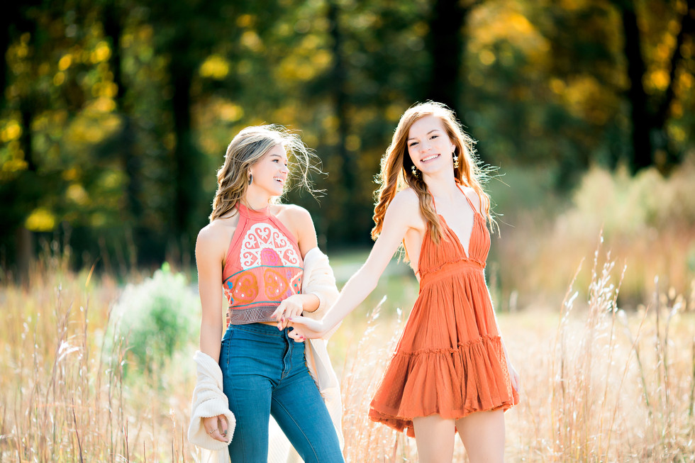 Wake Forest Senior Photographer | Lauren & Bella