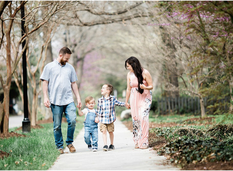 Wake Forest Family Photographer | The Kraeszing Family