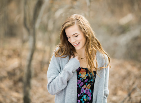 Wake Forest Senior Photographer | Beautiful Bella