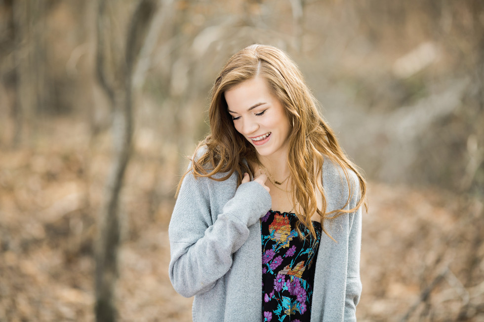 Wake Forest Senior Photographer | Beautiful Bella