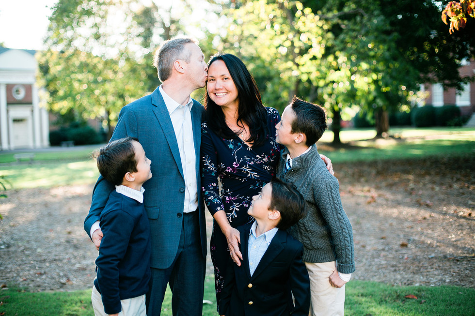 Wake Forest Family Photographer |  The Williams Family