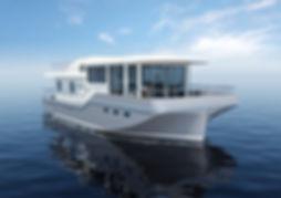 Hausboot für das Meer