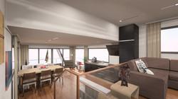 Wohnbereich Hausboot