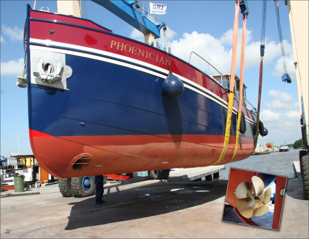 Luxe Barges Unterschiff