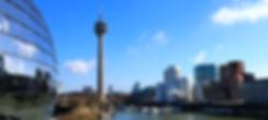 Medienhafen Düsseldorf - Einfahrt in den Yachthafen