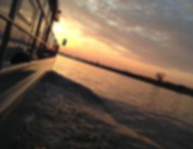 Hausboot auf dem Rhein