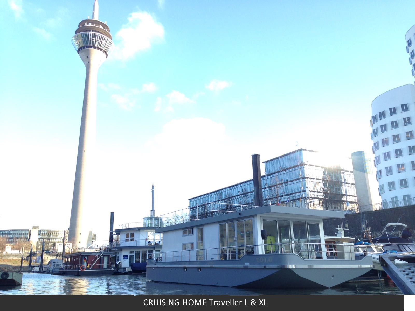 Hausboot Liegeplatz Traveller XL