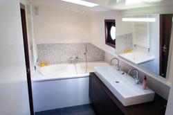 Badezimmer im Frachter