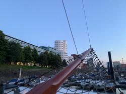Voorwaarts Sailboat Medienhafen