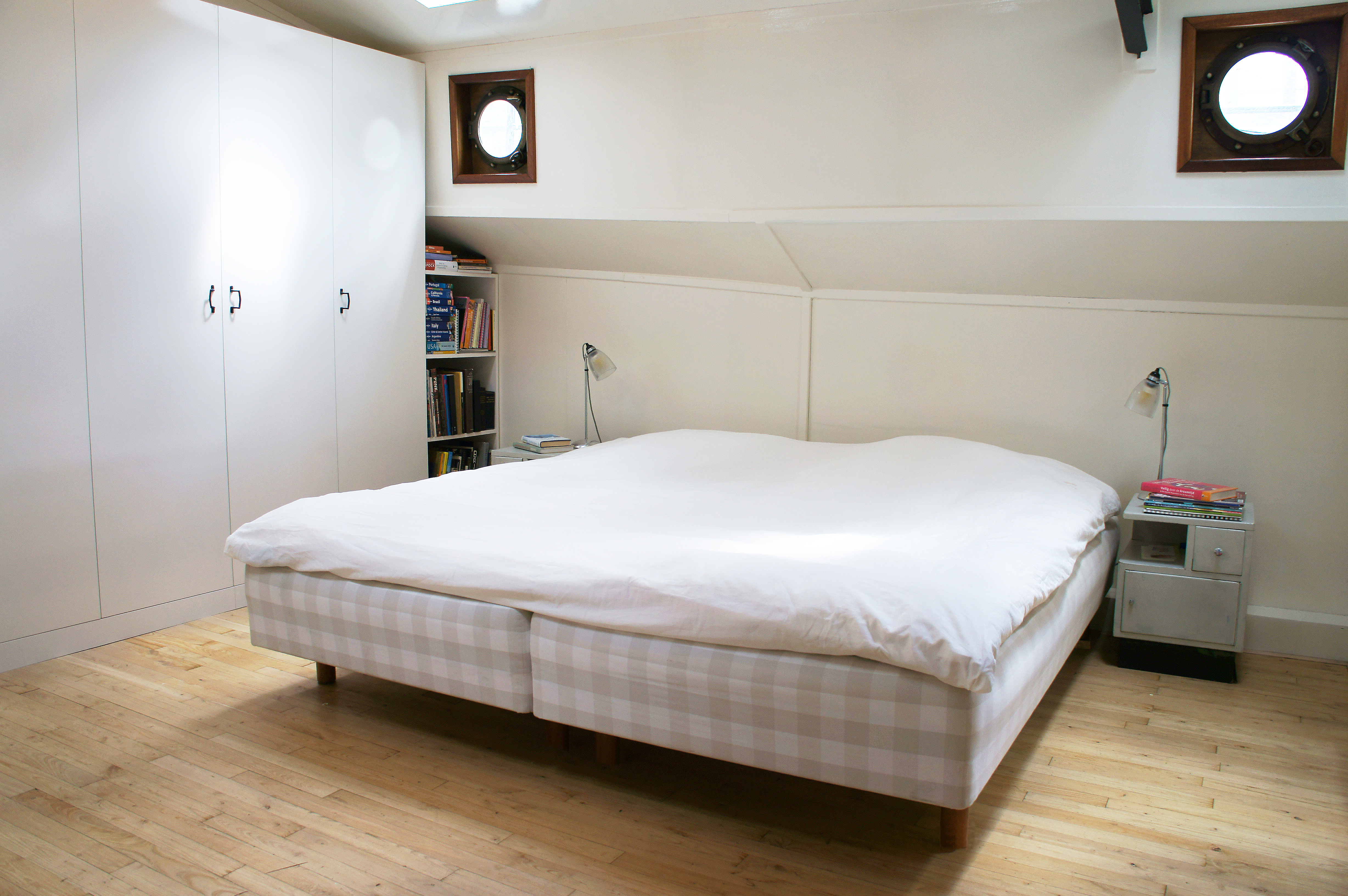 Schlafzimmer Luxe Barge