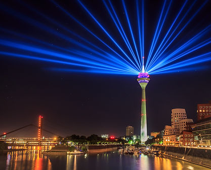 Funkturm Marina Düsseldorf