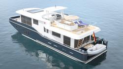Cruising Home Hausboot fürs Meer