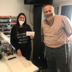 Hila from Pardes Chana - Her nail salon was closed for almost a year!