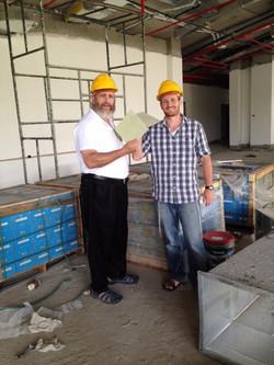 Shmuel & Gabi in Sderot
