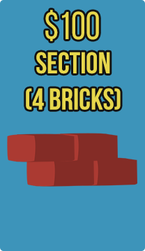 Section (4 bricks) (Hebron)