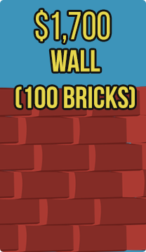Wall (100 bricks) (Sderot)