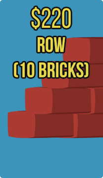 Row (10 bricks) (Hebron)
