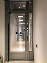MARTEK STEEL OFFICE DOOR