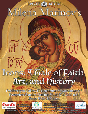 Milena Marinov_Icons - A Tale of Faith,
