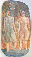 two women 15x8 clay.jpg