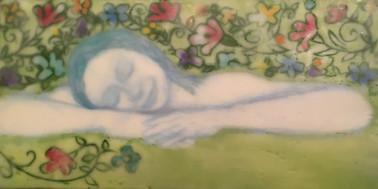 dreaming of spring encaustic 6x12.jpg