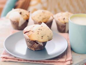 Talvez os melhores muffins XL de chocolate