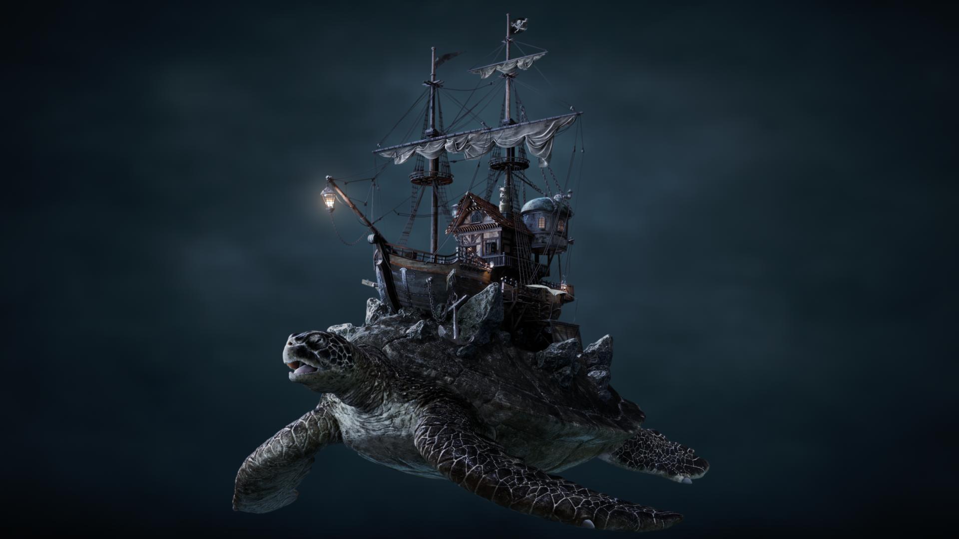Turtle Ship / 2018.03