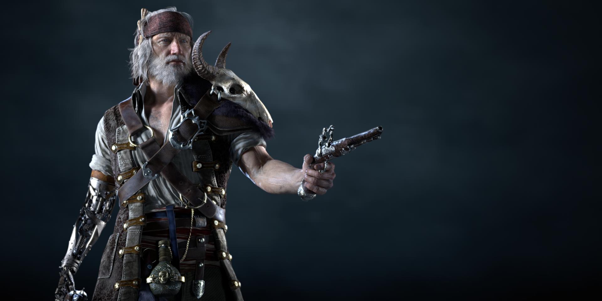 Male Pirate / 2018.03