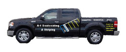 left Truck with logo