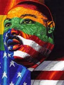Martin L. King Portrait - Framed