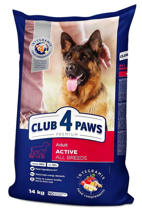 CLUB 4 PAWS Premium Active