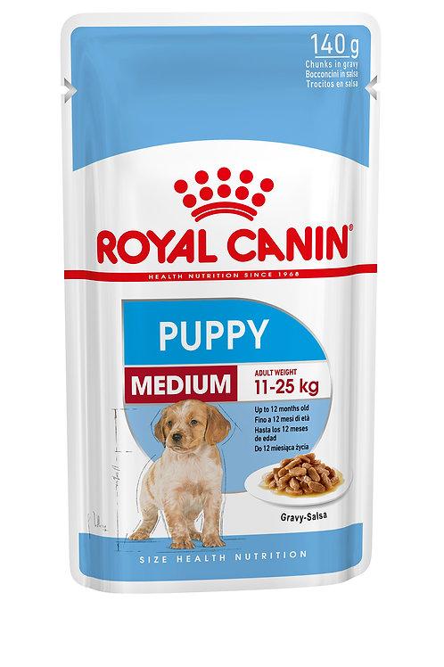 Medium breed PUPPY WET 10*140GR
