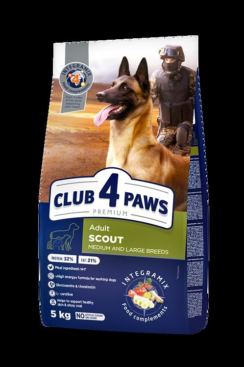 CLUB 4 PAWS Premium Scout - 5kg
