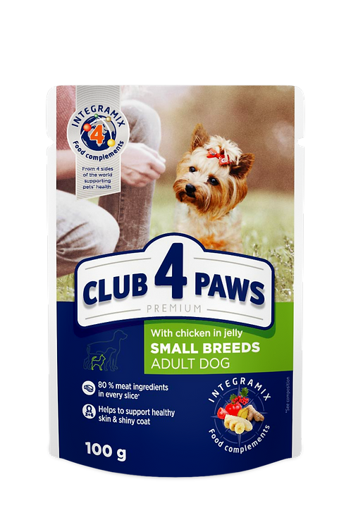 CLUB 4 PAWS Premium Chicken in jelly